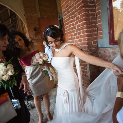 The wedding dress baby!